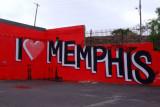 Love Memphis graffiti Elvis El único rey