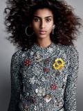 Imaan Hammam Taylor Hill para Vogue US