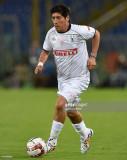 Ivan Zamorano en acción durante el Encuentro Inter...