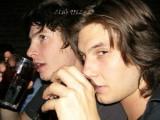 Ben barnes con su hermano joven jack