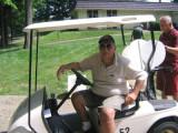 Jack Hellman el maitre D de la salida de golf se p...