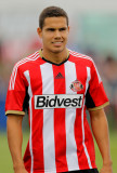Jack Rodwell Jack Rodwell de Sunderland durante la...