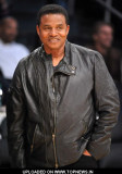 Jackie Jackson en 2011 NBA Celebrity Sightings en...