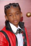 Jaden Smith en el Karate Kid Los Angeles Premiere...
