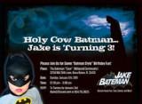 Jake Bateman Birthday Invitation Personalizado por