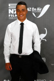 James Rolleston James Rolleston posa en la alfombr...
