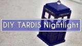 DIY Doctor Who TARDIS Nightlight