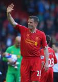Jamie Carragher Jamie Carragher de Liverpool se de...