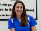 La nadadora olímpica Janet Evans servirá como vice...