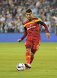 Javier Morales sale por RSL contra Los Angeles Gal...