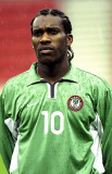 El genio nigeriano JayJay Okocha seguramente sería...