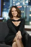 Jennifer Love Hewitt apareció en Jimmy Kimmel Live