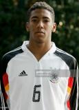 Jerome Boateng durante el photocall del alemán baj...