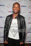 El actor Jerome Holder llega al estreno de Duogh e...