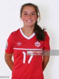 Jessie Fleming 17 de Canadá durante la Copa Mundia...
