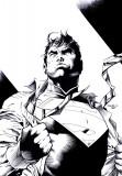 Las tintas de Superman Jim Lee