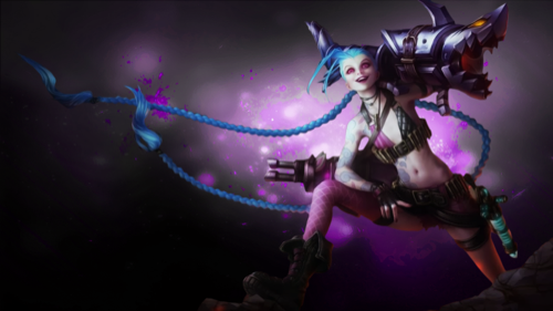 Fondos De Escritorio Jinx Jinx Lol Wallpapers Gratuitos