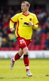 Joe Garner Joe Garner de Watford en acción durante...