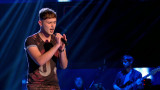 Joe Woolford realiza las luces The Voice UK 2015 B...