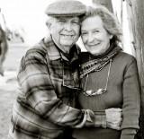 Pintor John Henry y su esposa pintor