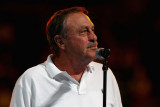 John Newcombe El ex tenista australiano John Newco...