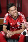 Jonathan Osorio Jonathan Osorio 21 del Toronto FC...