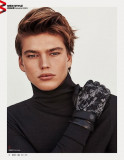 Jordan Barrett para Harper s Bazaar China