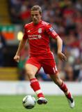 Jordan Henderson Jordan Henderson de Liverpool en...