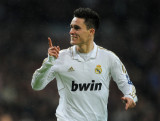 Jose Callejon Jose Callejon de Real Madrid celebra...