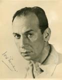 Jose Ferrer Cine Autografiado retratos a través de