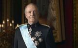 Rey Juan Carlos de España recuperándose de