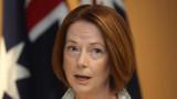 Julia Gillard se prepara para la campaña de Tony A...