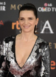 JULIETTE BINOCHE en la XXX Goya Film Awards en Mad...