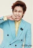 La cantante pop Jung Ilhoon un miembro de BTOB