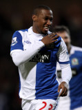 Junior Hoilett Junior Hoilett de Blackburn Rovers...