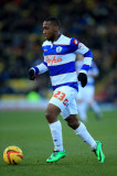 Junior Hoilett Junior Hoilett de QPR en acción dur...