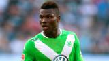 El centrocampista del Wolfsburgo, Junior Malanda,...