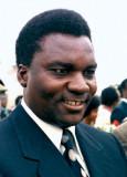Juvenal Habyarimana presidente de Ruanda
