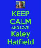 MANTENGA LA CALMA Y EL AMOR Kaley Hatfield MANTENG...