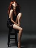 RedPoppy Moda Karen Elson en Harper s Bazaar Reino...