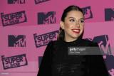 Karime Pindter miembro del elenco de MTV Super Sho...
