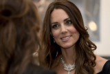 Kate Middleton durante la Gala 2014 en el National