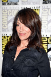 KATEY SAGAL en el panel de Sons of Anarchy en Comi...