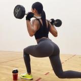 Katya Elise Henry a la nueva bomba del gimnasio Fo...