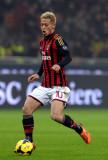 Keisuke Honda Keisuke Honda del AC Milan en acción...