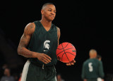 Keith Appling hizo grandes progresos como un guard...