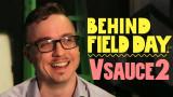 Kevin Lieber de Vsauce2 detrás del campo