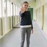 Kia Pegg CBBC actriz Hands Up Vamos a dejar de int...