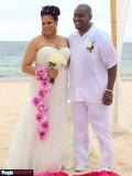 Vestido de novia de Kim Coles s Ver fotos exclusiv...