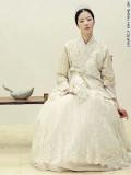Hanbok nupcial vestido coreano tradicional Kim